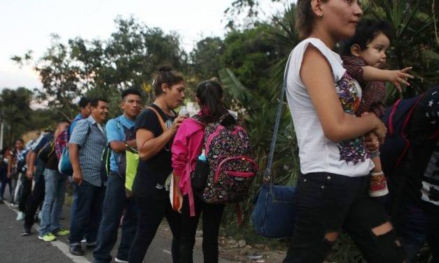 Honduran Caravan Crosses Guatemala On Its Way To U.S.