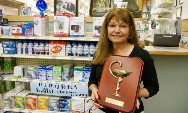 Petersburg pharmacist receives statewide award for community service