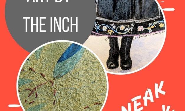 Fourth art-by-the-inch WAVE fund raiser Saturday