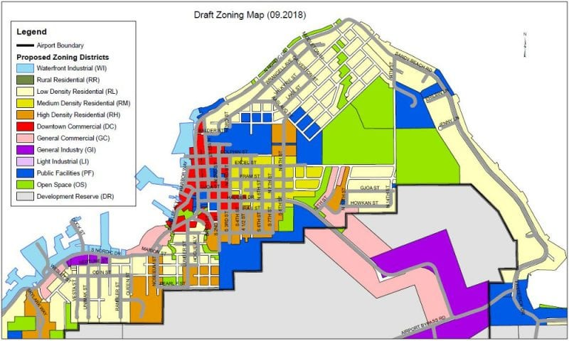Petersburg's zoning map to change this year - KFSK on