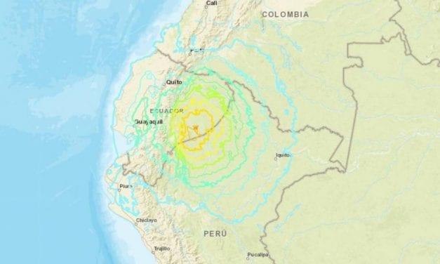 7.5 Magnitude Earthquake Strikes Near Ecuador's Border With Peru