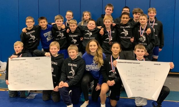 Mitkof Middle School wrestlers fourth at regions