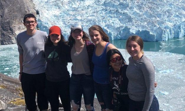 Student glacier survey team reports smooth sailing