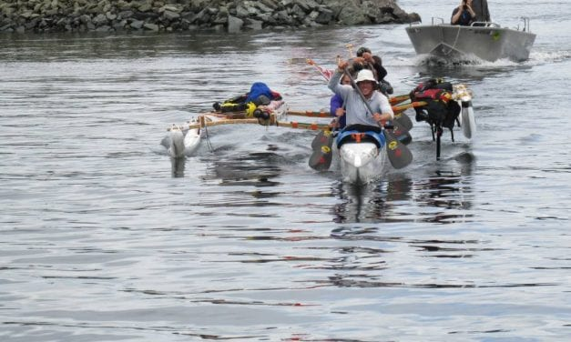 Capsized boats unable to finish Race to Alaska