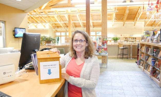 Petersburg Public Library intern working to improve user experience