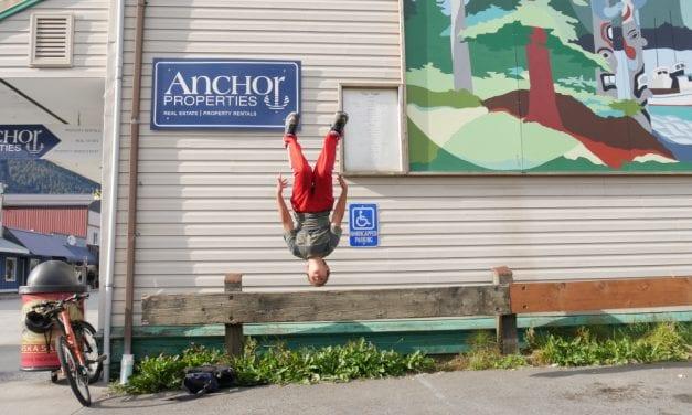Petersburg middle school student puts daredevil skills to work