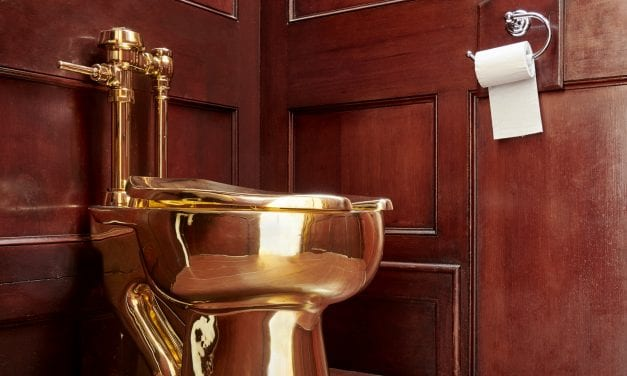 British Authorities Are Scrambling To Find A Stolen Solid Gold Toilet