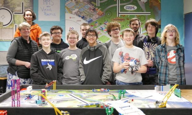 Middle schoolers take on robotics competitions