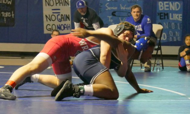 Craig, Wrangell challenge Viking wrestlers at only home matches