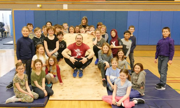 Alaskan ninja warrior visits Petersburg schools